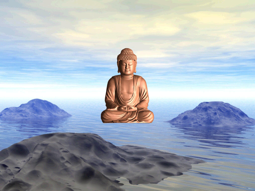 Floating Buddha